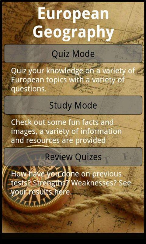 European Quiz (Lite)- screenshot