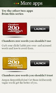 Chambers 200 Words-Should Use - screenshot thumbnail