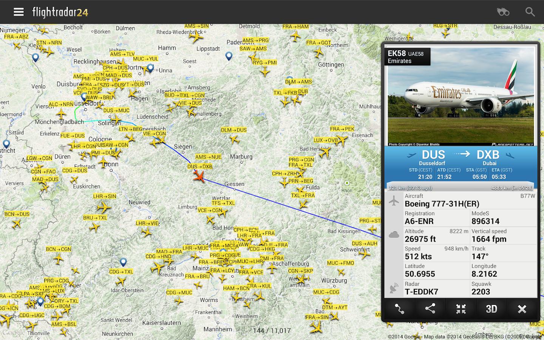Flightradar24 - Flight Tracker - screenshot