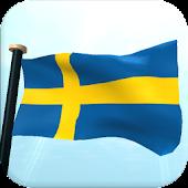 Sweden Flag 3D Live Wallpaper