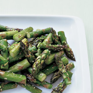 Roasted Sesame Asparagus.