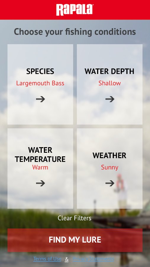 Rapala Lure Selector- screenshot