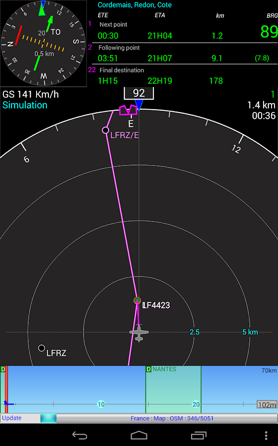 Aero Nav- screenshot