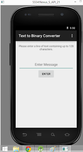 Text to Binary Converter