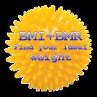 BMI + BMR diet calculator icon