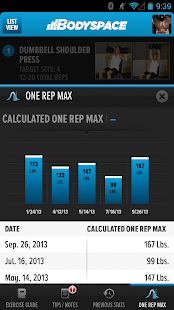 BodySpace - Social Fitness App- screenshot thumbnail