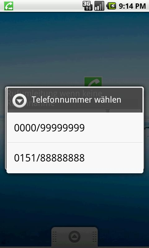 RedirectCall-call forwarding- screenshot