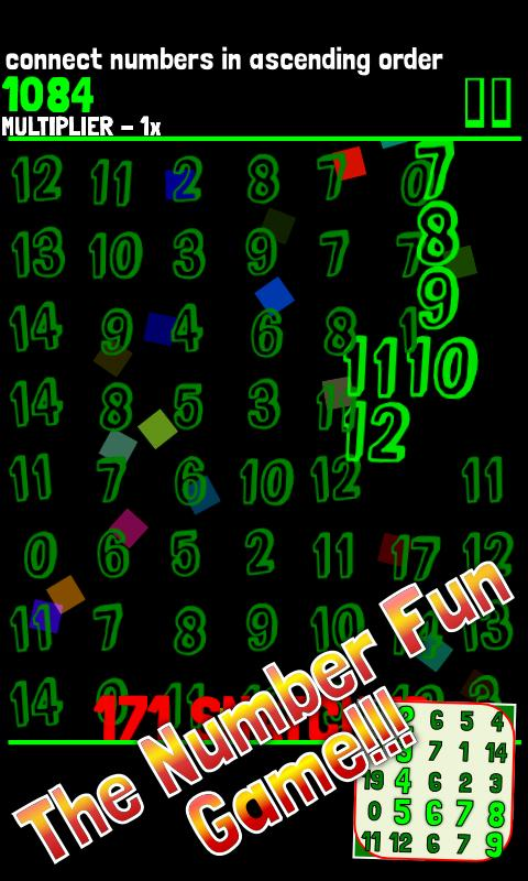 The Number Fun Game- screenshot