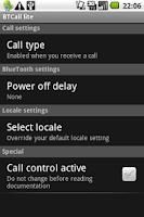 Screenshot of BTCall Lite - Bluetooth auto
