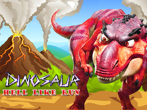 Dinosaur Hell Run Worlds End