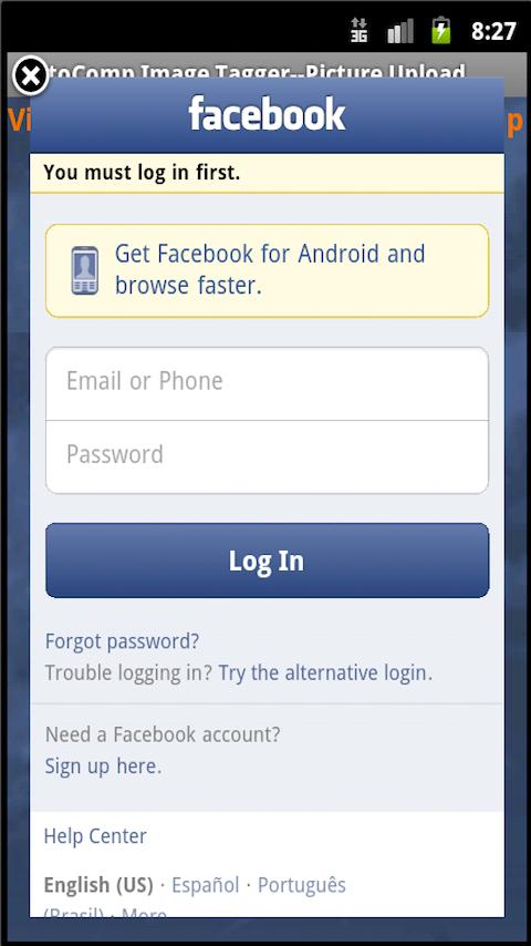 Image Geo Tagger 2.0 &Facebook - screenshot