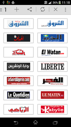 All Newspaper of Algeria