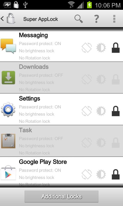 Super AppLock (App Protector) - screenshot