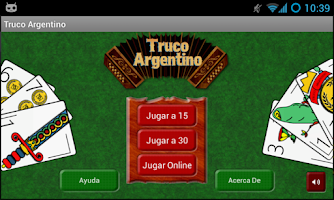 Screenshot of Truco Argentino Online