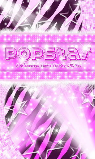 ★ Pop Star Purple Zebra SMS ★