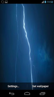 Storm Lightning Stunning Night- screenshot thumbnail