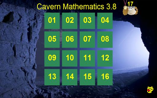 Cavern Math 3.8