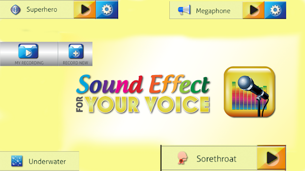 Sound Effects for Your Voice