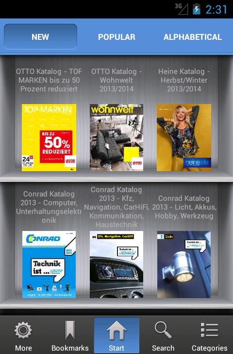 Kataloge App - KaufNavigator- screenshot