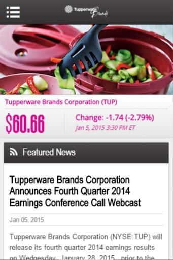 Tupperware IR