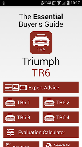 Triumph TR6 - EBG