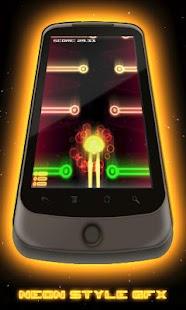 Aeon Racer Lite Neon Glow Race- screenshot thumbnail