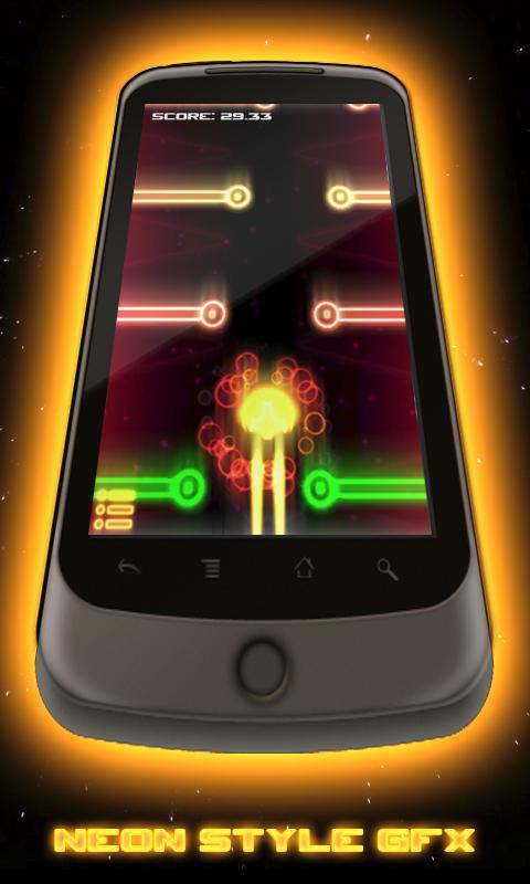 Aeon Racer Lite Neon Glow Race- screenshot
