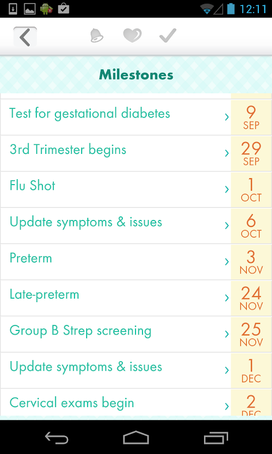 Due Date Plus Pregnancy & Baby - screenshot