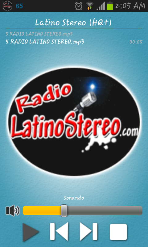 Radio Latino Stereo- screenshot