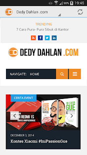 Dedy Dahlan .com- screenshot thumbnail