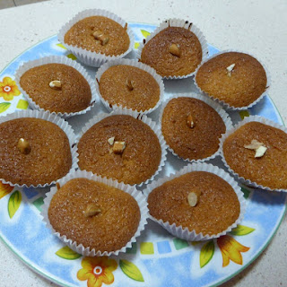 Golden Syrup Cupcakes.