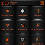 ORANGE Fire Theme CM11/AOSP/PA v4.00