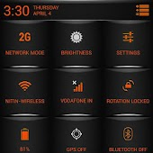 ORANGE Fire Theme CM11/AOSP/PA