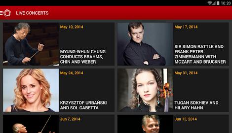 Digital Concert Hall Screenshot 23