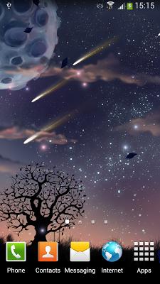 Moon Night Live Wallpaper - screenshot