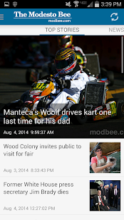 The Modesto Bee & ModBee.com- screenshot thumbnail