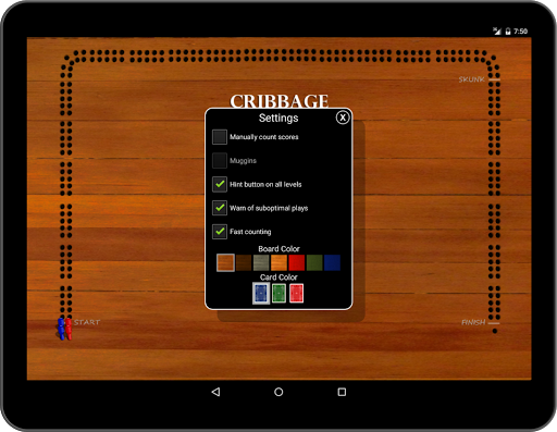 【免費紙牌App】Cribbage Classic-APP點子