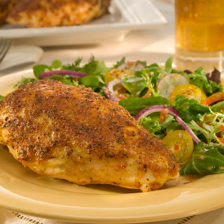 Chicken Breasts With Mediterranean Marinade.