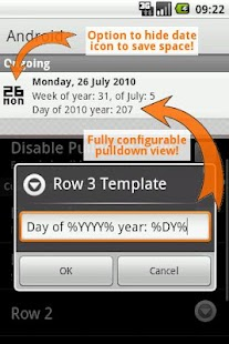 Date In Tray PRO - screenshot thumbnail