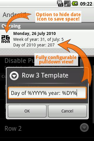 Date In Tray PRO - screenshot