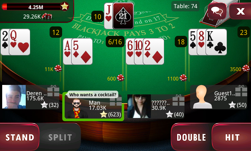 BlackJack Live for Tango - screenshot
