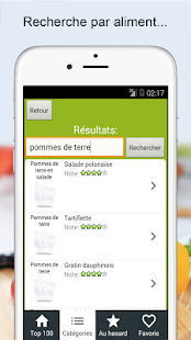 Recettes cuisine et cocktails- screenshot thumbnail
