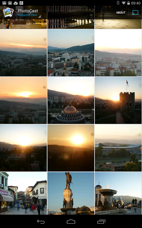 PhotoCast for Chromecast - screenshot