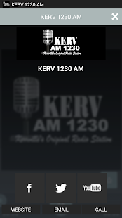 KERV 1230 AM- screenshot thumbnail