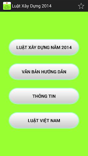 Luat Xay Dung Nam 2014