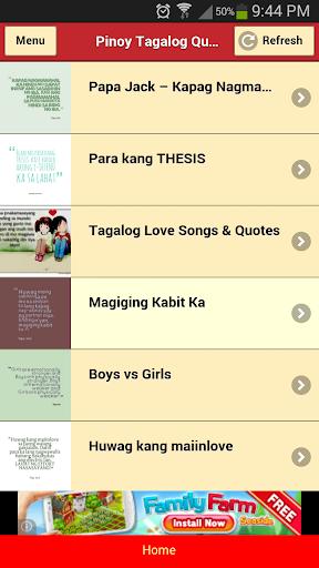 Pinoy Tagalog Quotes