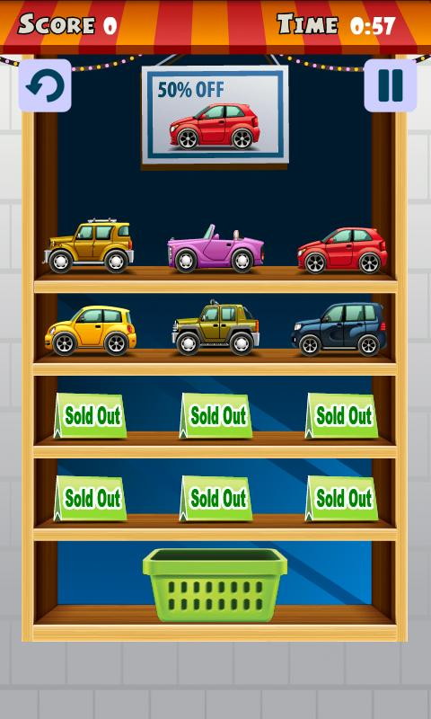 Find My Car (kids puzzle)- screenshot