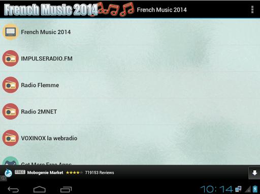 French Music 2014 and Radio