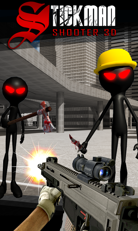 Stickman Shooter 3D - screenshot