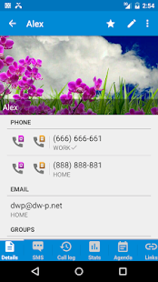 DW Contacts & Phone & Dialer - screenshot thumbnail